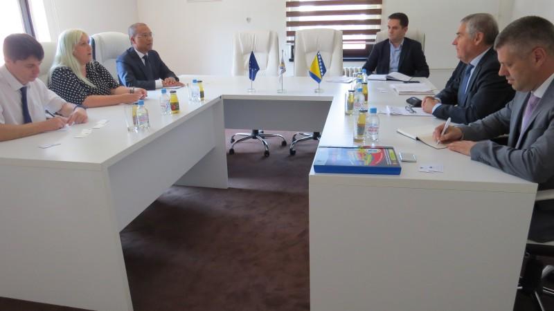 Predstavnici Delegacije EU u Bosni i Hercegovini posjetili SERDA-u