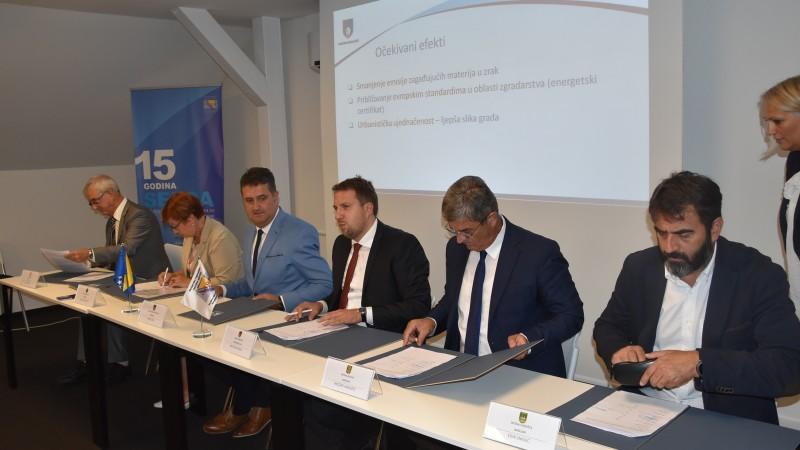 U SERDA-i potpisan Sporazum o saradnji na implementaciji modela poboljšanja energetske efikasnosti u zgradarstvu na području Kantona Sarajevo