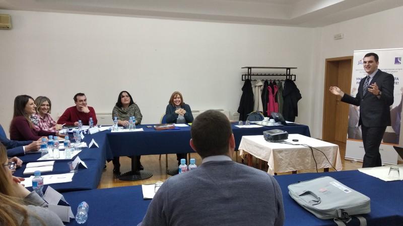 SERDA treneri završili program edukacije novih mentora u Makedoniji
