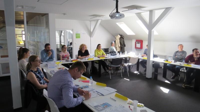 Za treću grupu predstavnika MSP sa područja Kantona Sarajevo održan Program 1 Projektne akademije