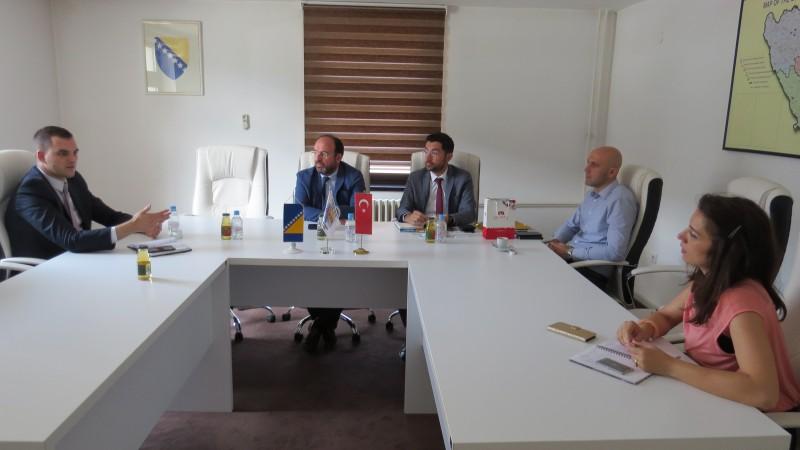 Nastavak saradnje između Sarajevske regionalne razvojne agencije SERDA i Razvojne agencije Ankara