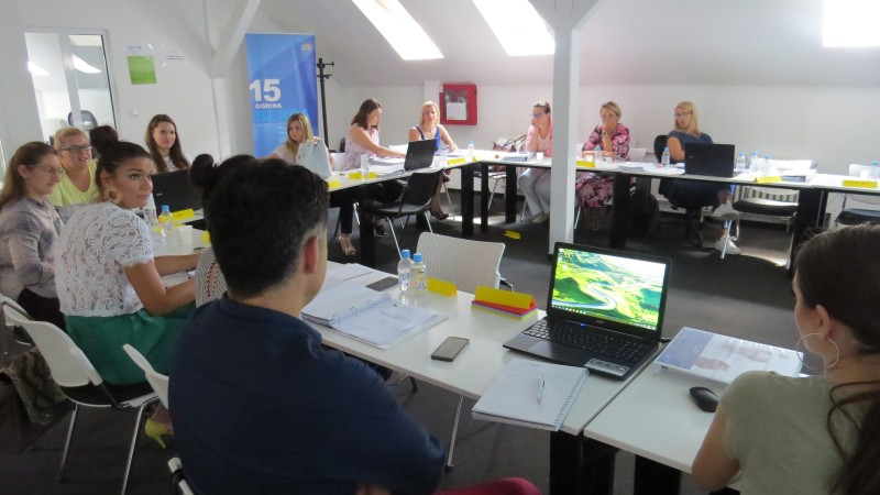 Održan Program 1 Projektne akademije za petu grupu predstavnika MSP sa područja Kantona Sarajevo