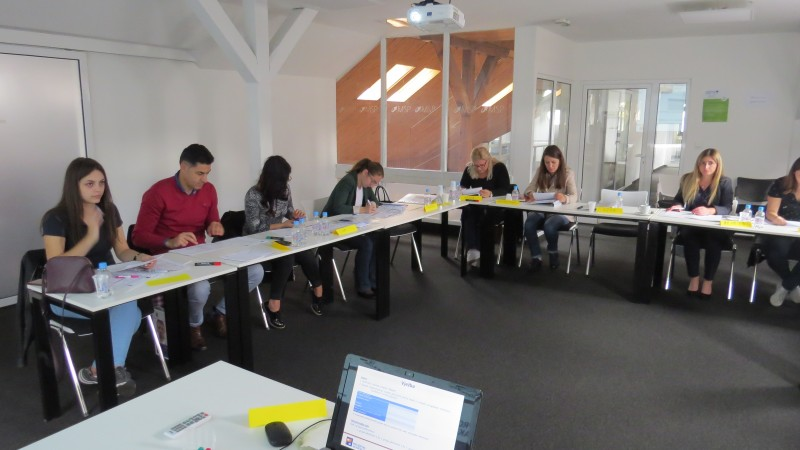 Program 2 Projektne akademije za pretposljednju grupu MSP sa područja Kantona Sarajevo održan od 23. do 27.09.2019. godine