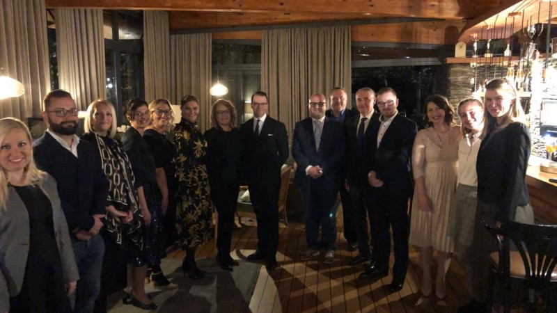 SERDA presented Challenge to Change project to their Royal Highnesses, Crown Princess Victoria and Prince Daniel of Sweden