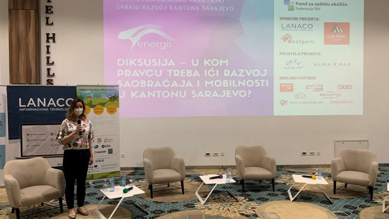 Projekat Green Mind predstavljen na konferenciji Platforma za nisko-karbonski urbani razvoj FBiH