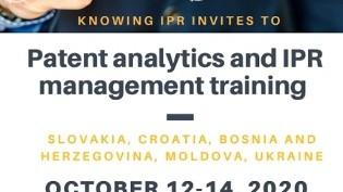 Trening: Patent analitika i IPR menadžment, ONLINE 12-14. oktobra 2020