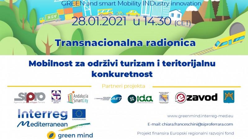 Poziv za transnacionalnu radionicu i završnu konferenciju u okviru projekta GREEN MIND