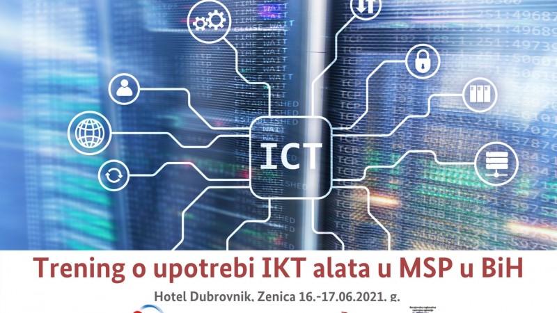 Dvodnevni trening o korištenju IKT-a u malim i srednjim preduzećima u Bosni i Hercegovini