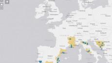 CHEBEC mapa klastera i mreža sektora  kulture i kreativne industrije na Mediteranu