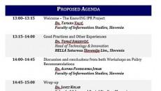 KNOWING IPR: Druga radionica o politikama u oblasti zaštite prava intelektualnog vlasništva