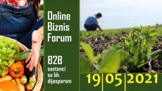 """Završen drugi Online Biznis Forum i b2b sastanci sa bh. dijasporom """"Potencijali i perspektive investiranja u poljoprivredu i proizvodnju hrane u BiH"""